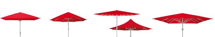 BAHAMA GROSS Schirme für den perfekten Sonnenschutz